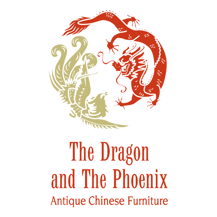free vector The dragon and the phoenix