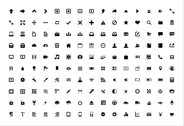 free vector The exquisite icons vector 18889