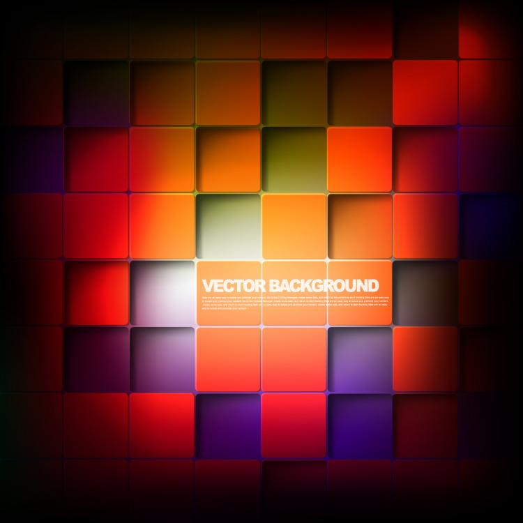 free vector The fashion trend stereo box 02 vector