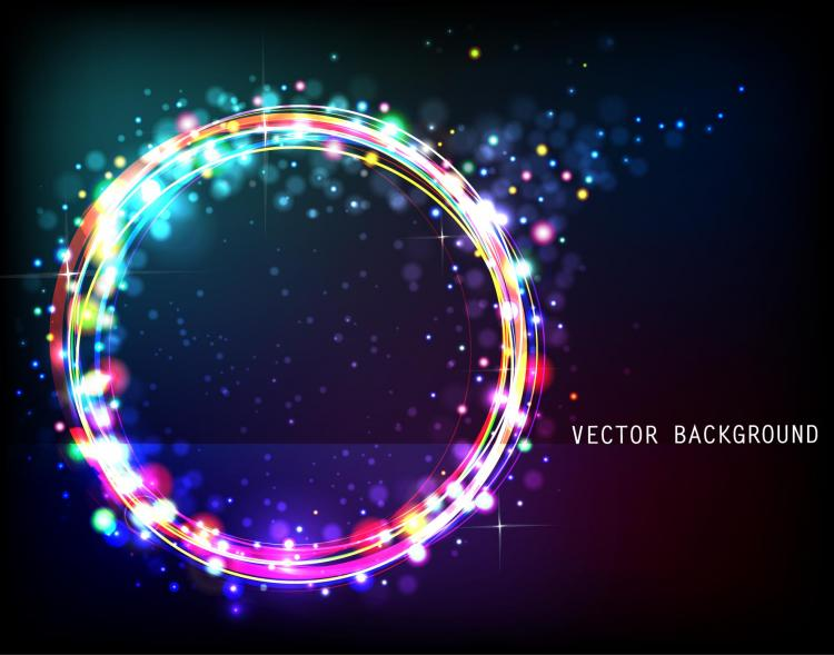 free vector The gorgeous starstudded background 05 vector