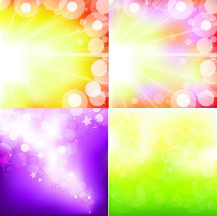 free vector The gorgeous starstudded background vector
