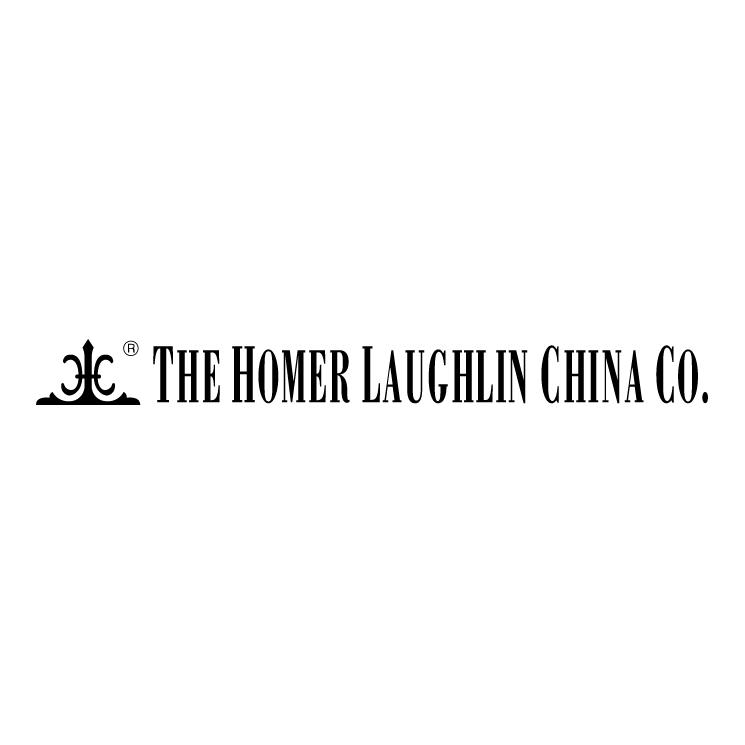 free vector The homer laughlin china