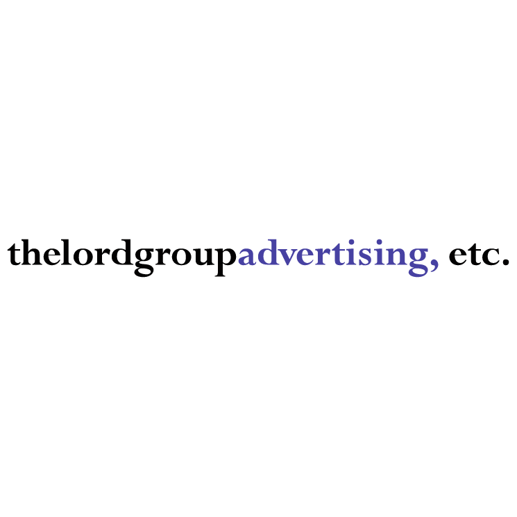 free vector The lord group advertising