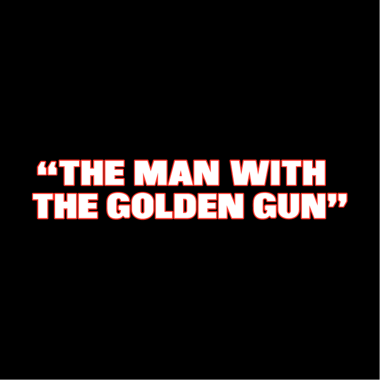 free vector The man with the golden gun