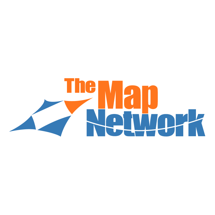 free vector The map network