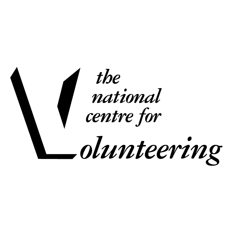 free vector The national centre for volunteering