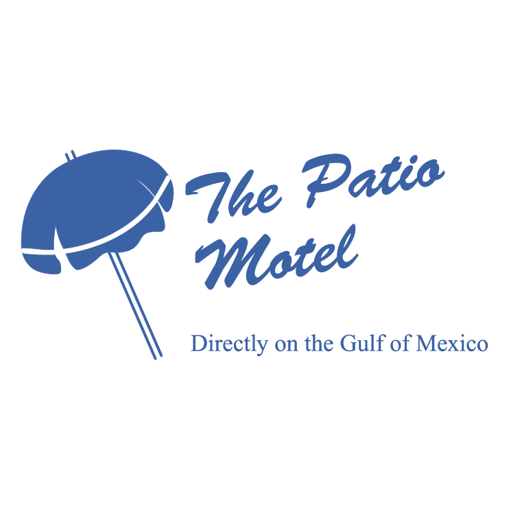 The Patio Motel Free Vector