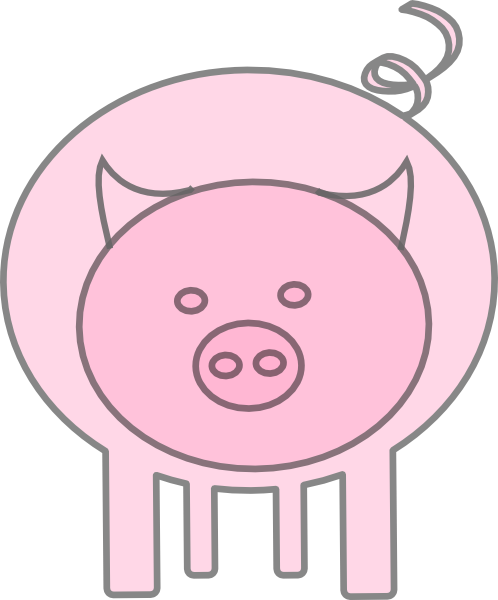 free vector The Pig clip art
