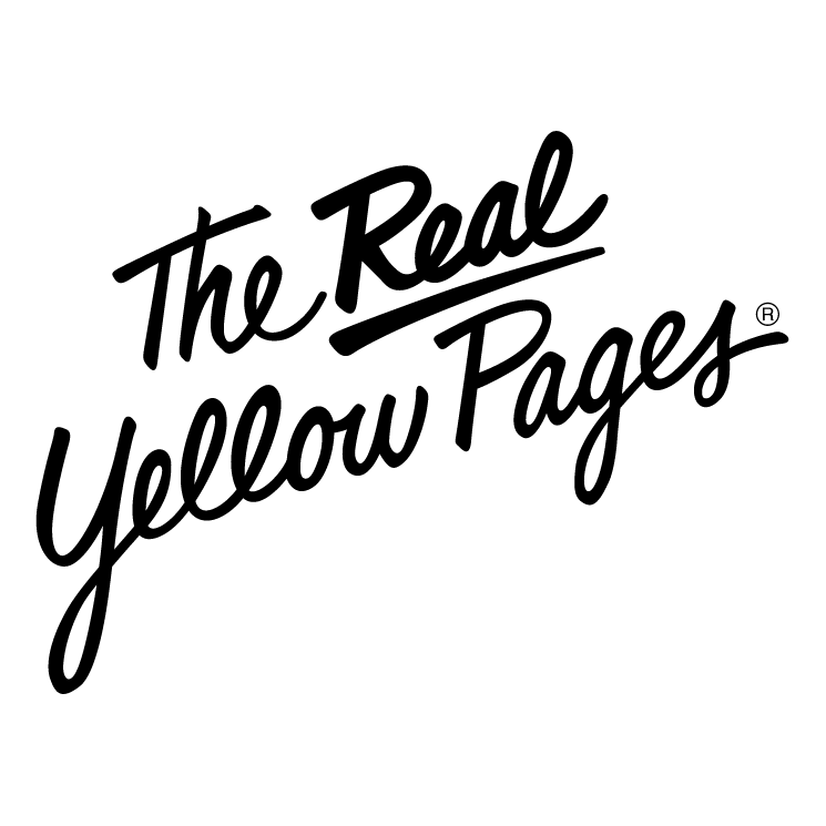 free vector The real yellow pages