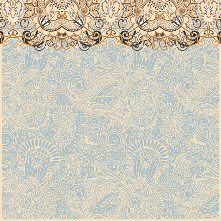 free vector The retro classic pattern background 02 vector