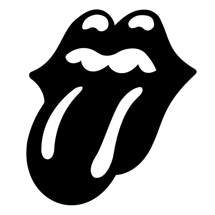 free vector The rolling stones tongue