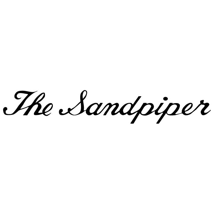 free vector The sandpiper