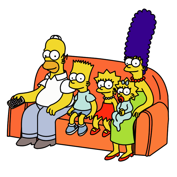 free vector The simpsons 6