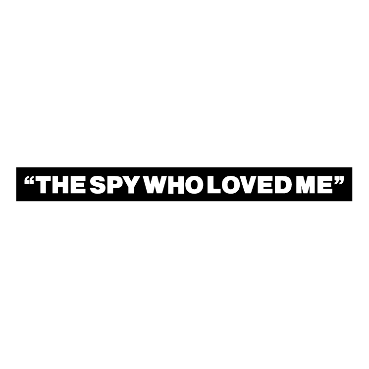 free vector The spy who loved me