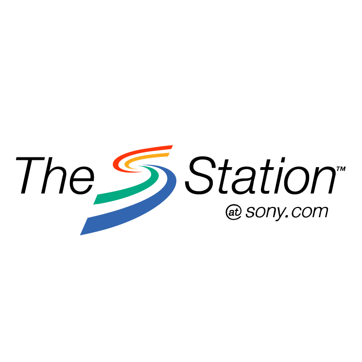 free vector The station