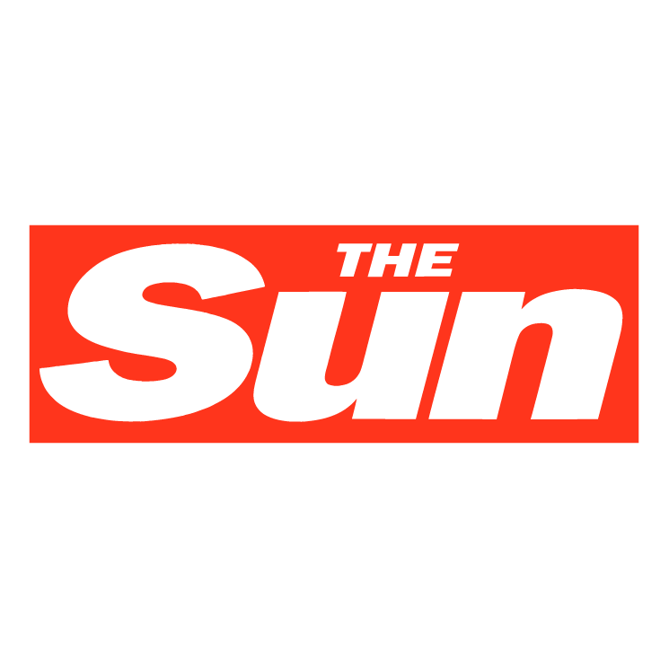 free vector The sun newspaper