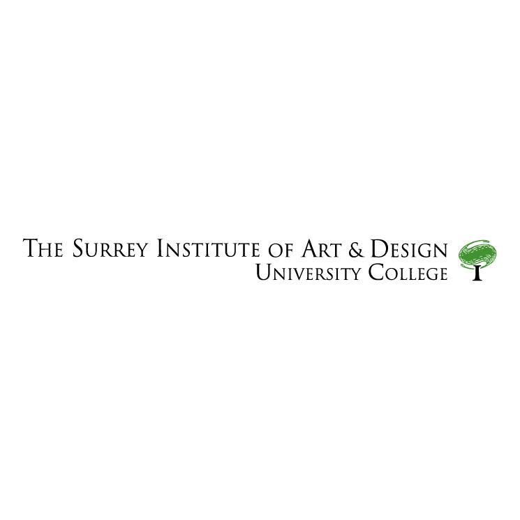 free vector The surrey institute of art design