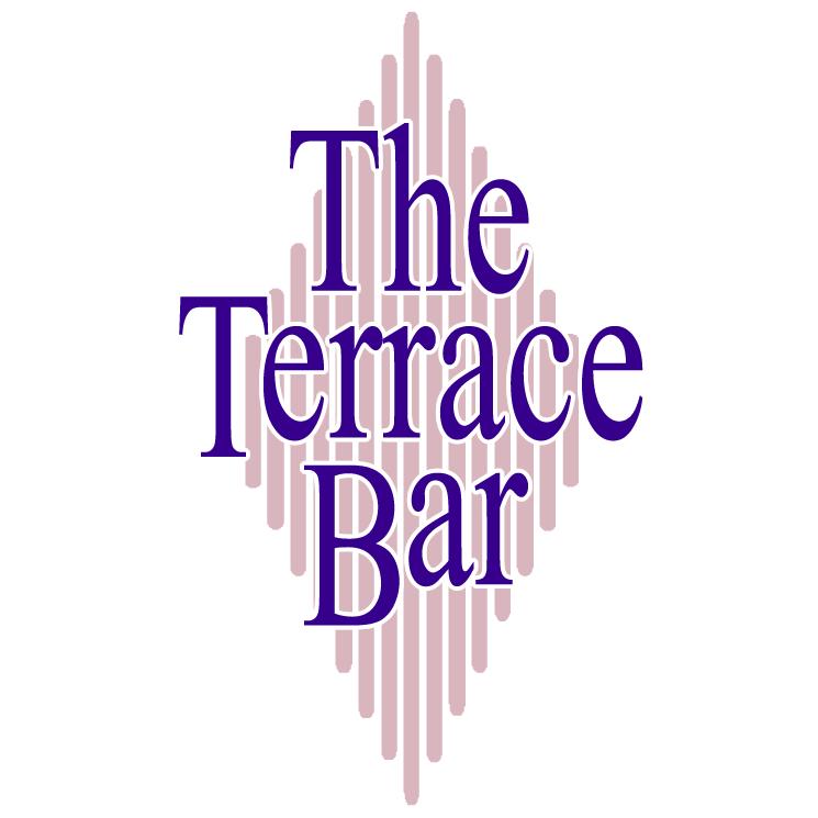 free vector The terrace bar