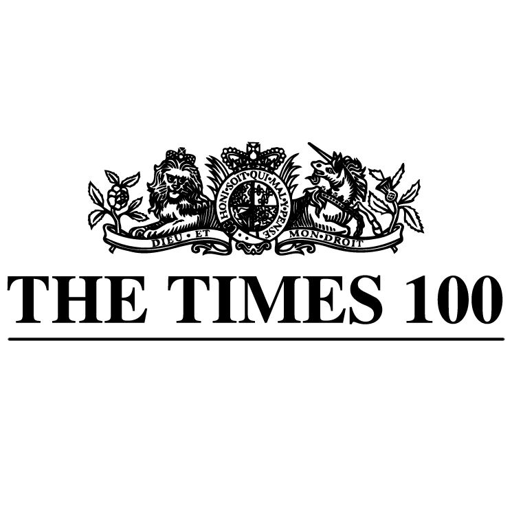 free vector The times 100