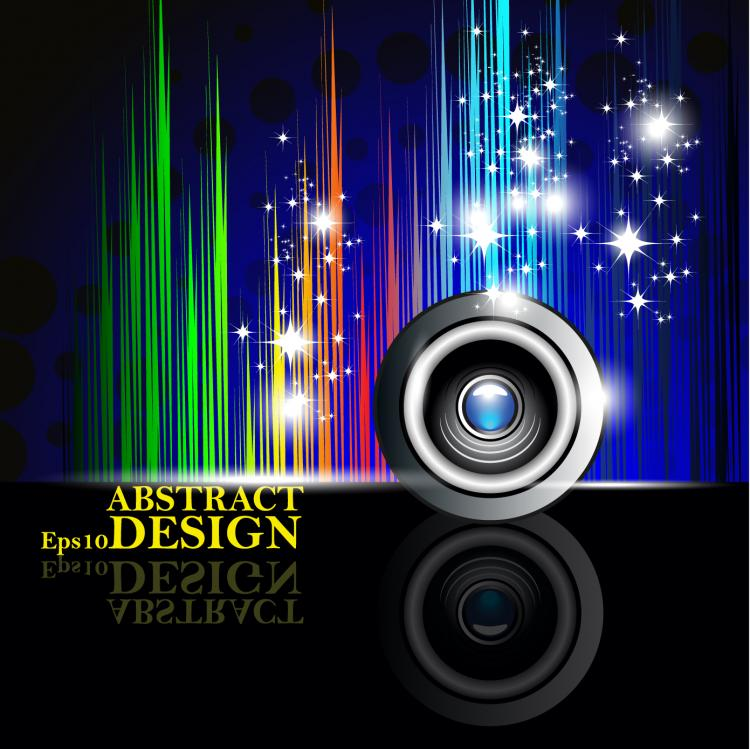 free vector The trend of colorful background 02 vector