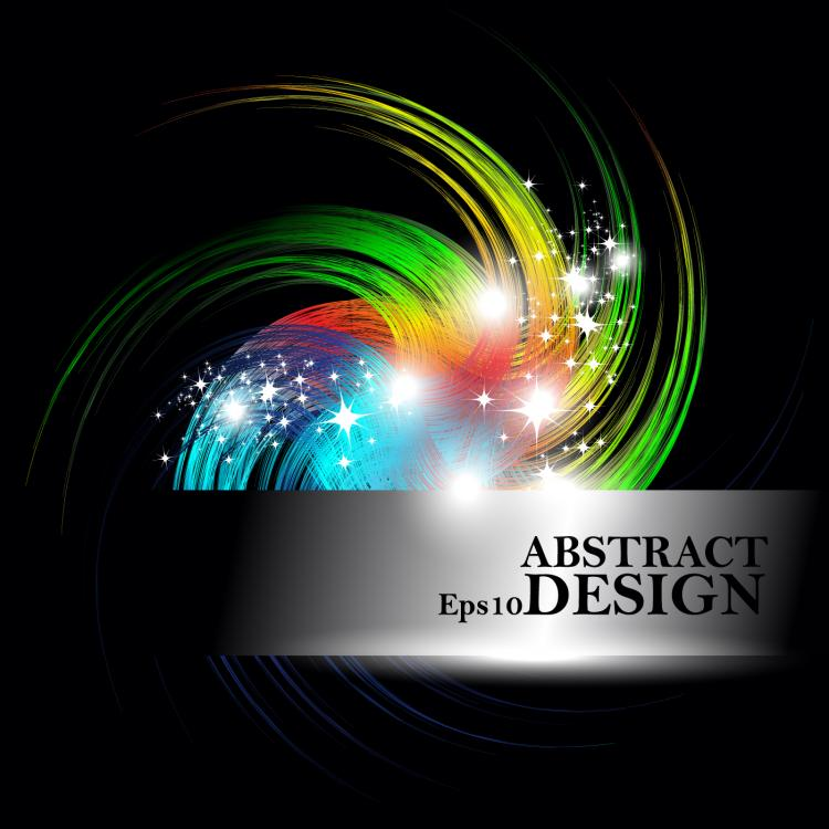 free vector The trend of colorful background 03 vector