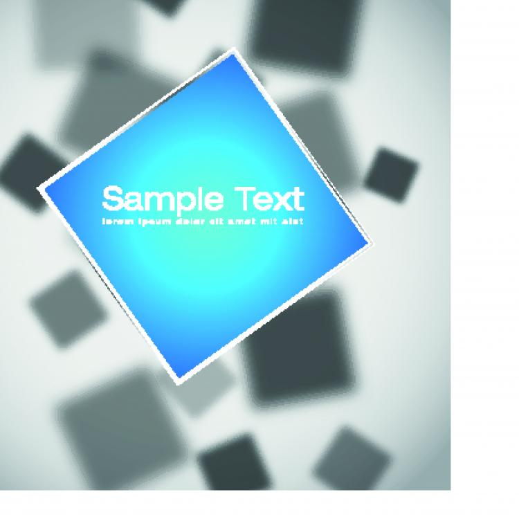 free vector The trend of threedimensional background 03 vector