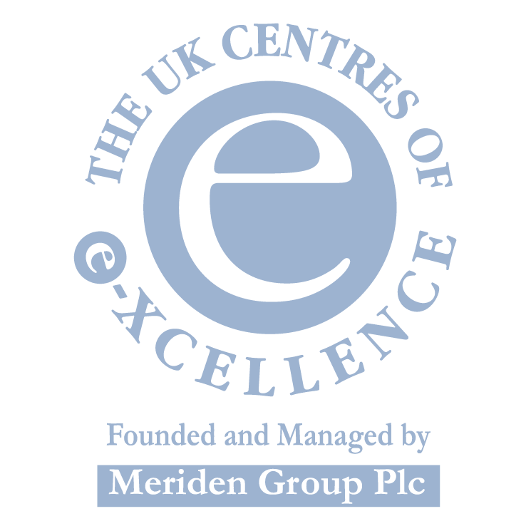 free vector The uk centres of e xcellence