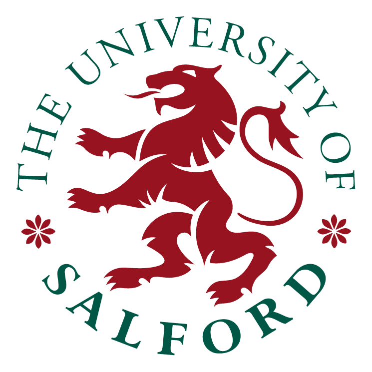 free vector The university of salford 0