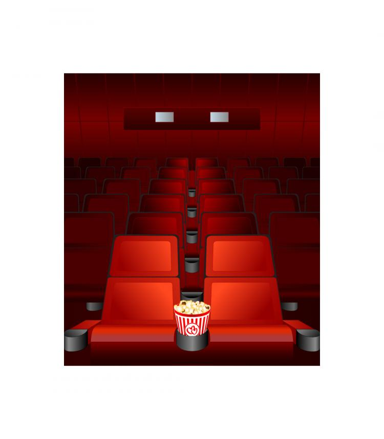 free vector Theater stage theme vector