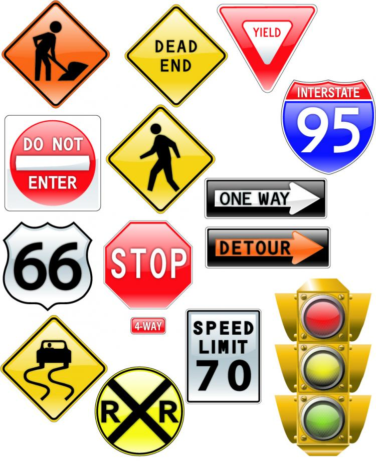 Theme Of Vector Signs Free Vector 4vector