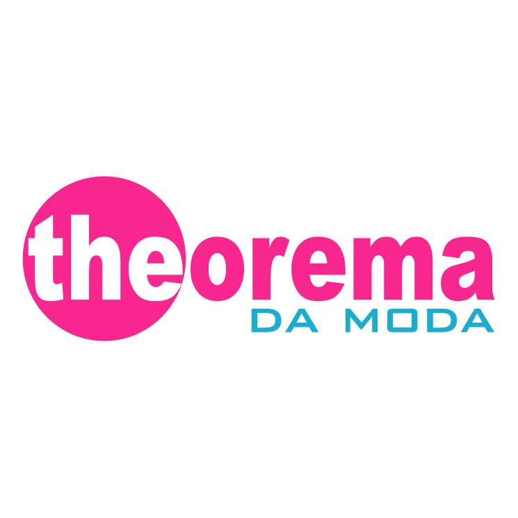free vector Theorema da moda 1