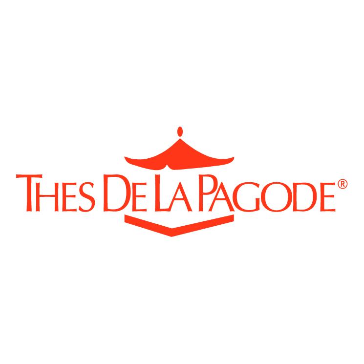 free vector Thes de la pagode