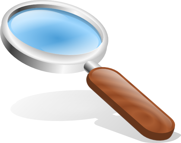 free vector Thestructorr Magnifying Glass clip art
