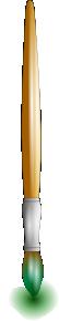 free vector Thin Paint Brush clip art