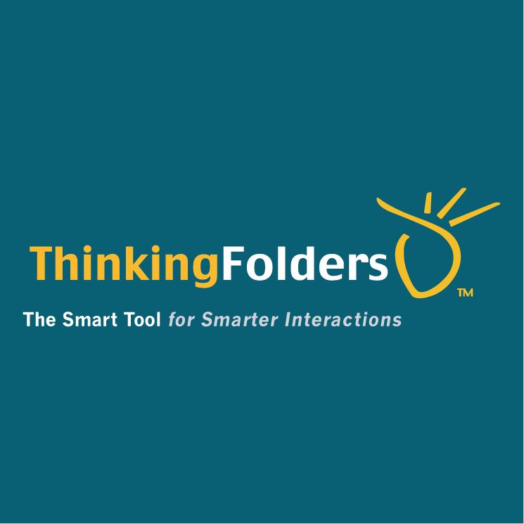 free vector Thinkingfolders