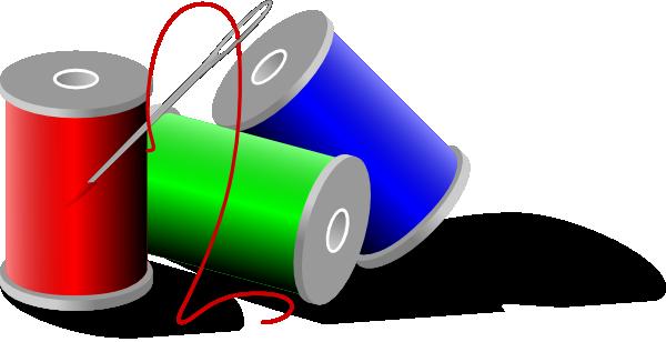 free vector Thread Rolls clip art