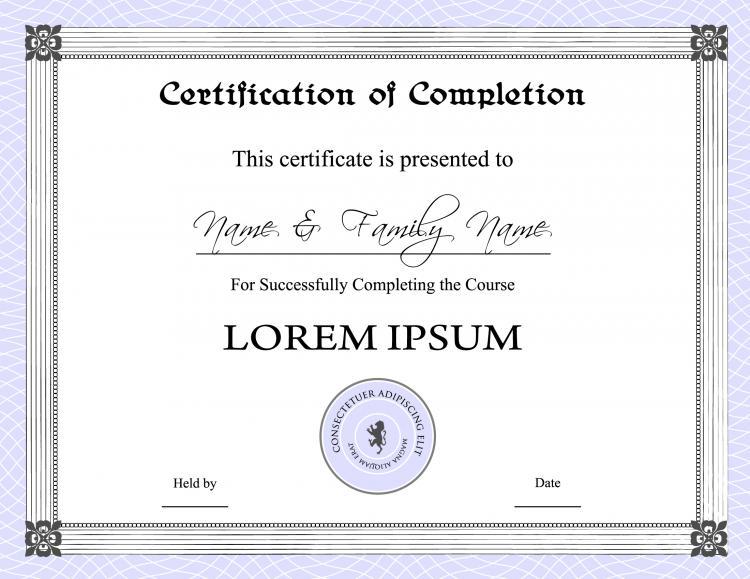 free vector Three certificate design vector