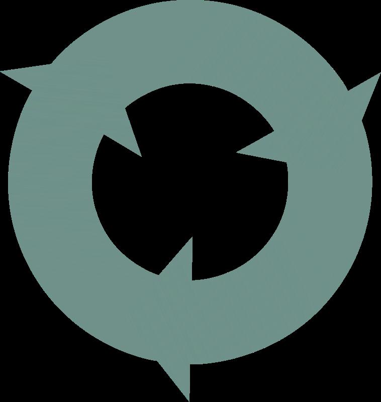 free vector Three Circular Interlocking Arrows