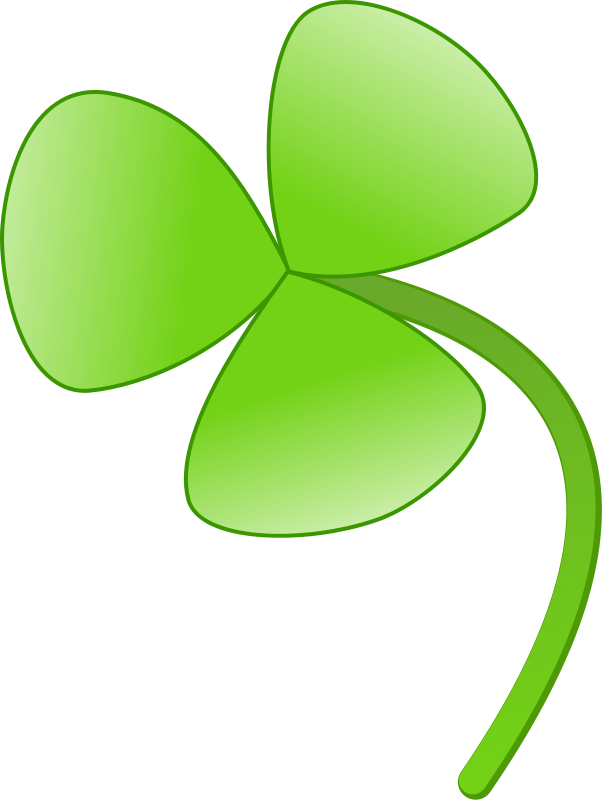 free vector Three leaves clover