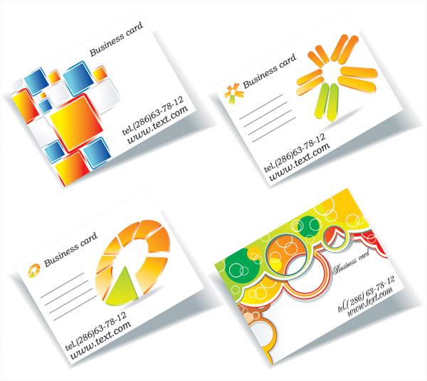 free vector Threedimensional graphics card template vector