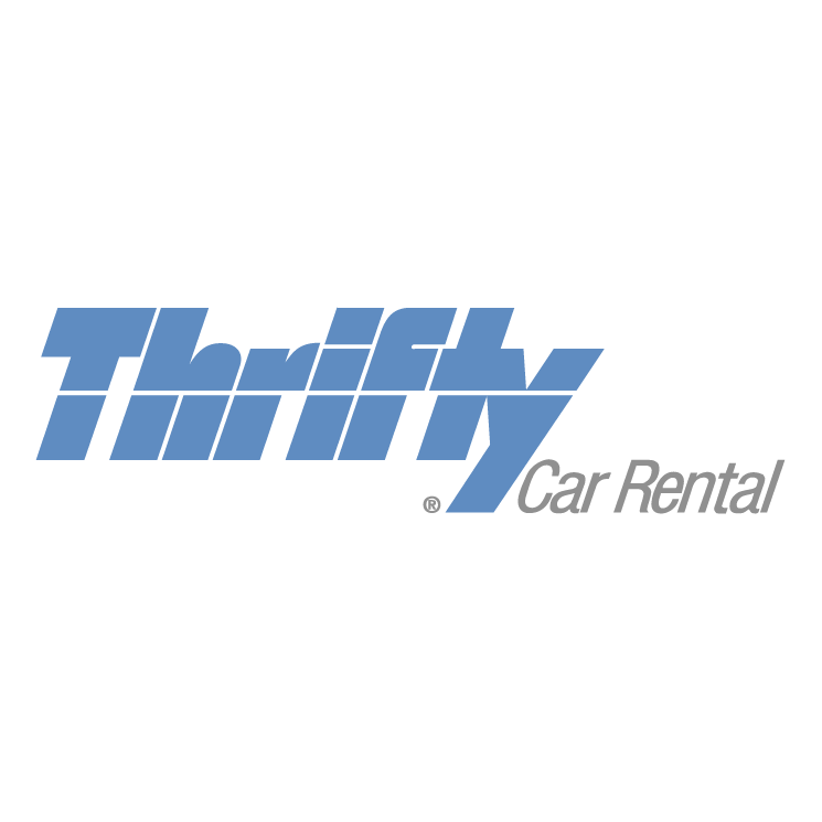 free vector Thrifty car rental 0