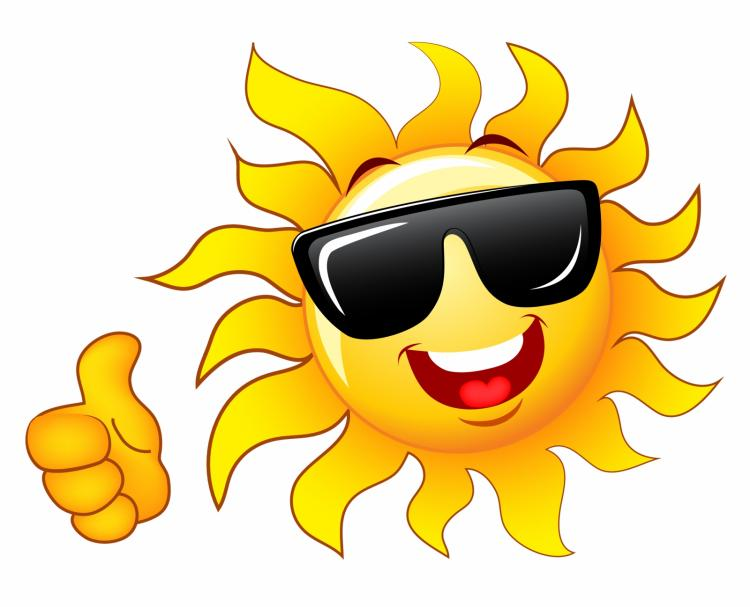 thumb up sun free vector 4vector rh 4vector com Sunshine with Sunglasses Clip Art Cartoon Sunshine Clip Art