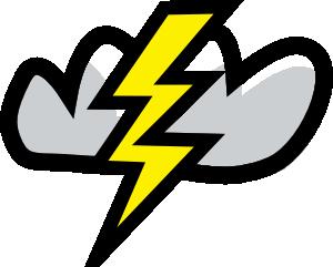 free vector Thunder Storm clip art