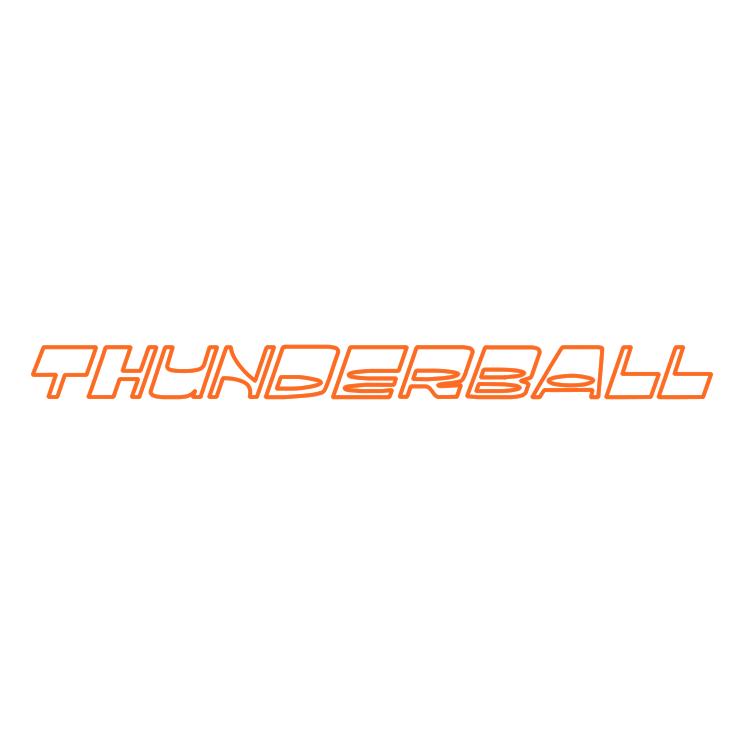 free vector Thunderball