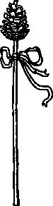 free vector Thyrsus Plant clip art