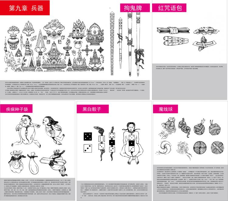 free vector Tibetan buddhist symbols and objects figure of ten five auspicious tienmu artifact vector