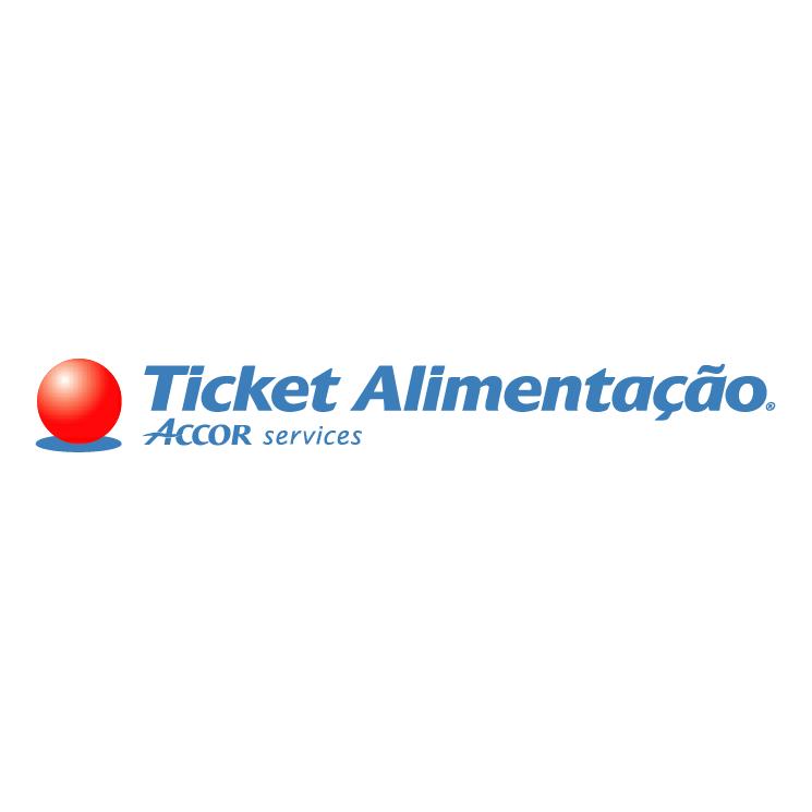 free vector Ticket alimentacao 0