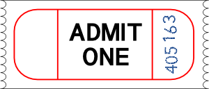 free vector Ticket clip art