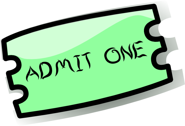 Ticket Clip Ticket Clip Art is Free Vector