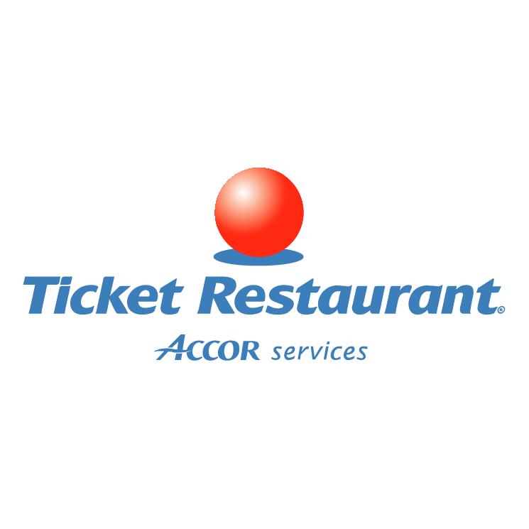 free vector Ticket restaurant